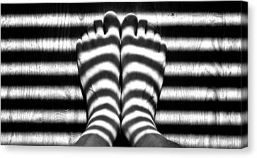 Light Socks Canvas Print