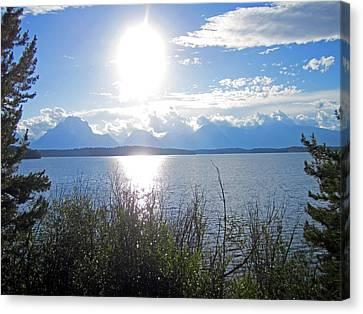 Lake Canvas Print - Light Sun Lake by Mike Podhorzer