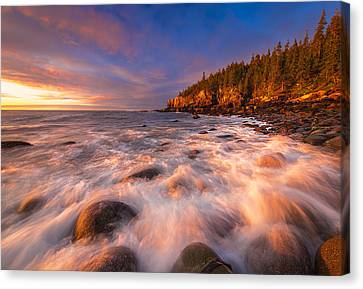 Light Surge Canvas Print by Joseph Rossbach