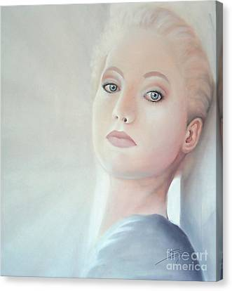 Canvas Print featuring the painting Light by S G