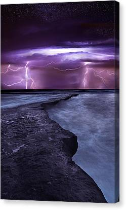 Light Symphony Canvas Print by Jorge Maia