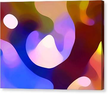 Light Through Branch Canvas Print by Amy Vangsgard
