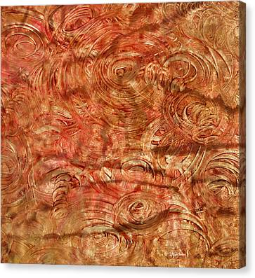 Canvas Print featuring the mixed media Light Travel by Sami Tiainen
