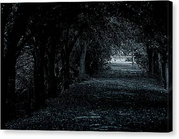 Canvas Print featuring the photograph Light Tunnel by Lorenzo Cassina