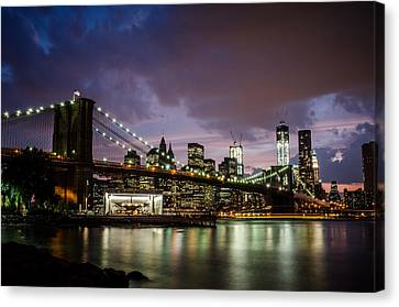Light Up The Night Canvas Print