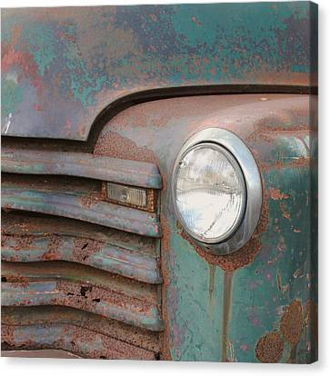 Light Up The Road Canvas Print