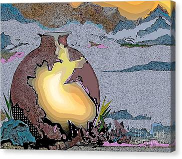 Light Within Canvas Print by AnDe Herbert