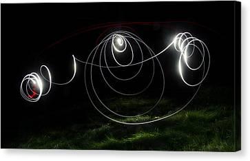 Lightbrush Doodle Canvas Print