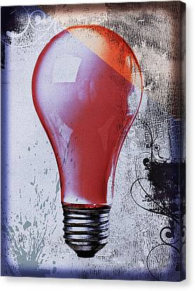 Lightbulb Canvas Print by Bob Orsillo