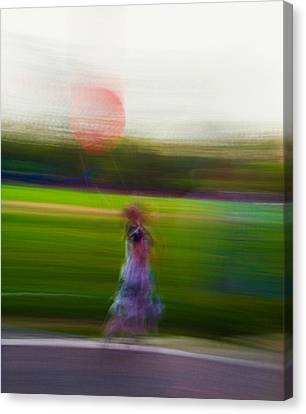Canvas Print featuring the photograph Lighter Than Air by Alex Lapidus