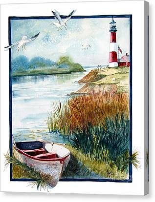 Lighthouse 1 Canvas Print by Marilyn Smith