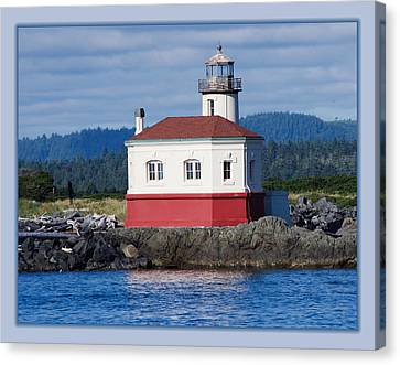 Canvas Print featuring the photograph Lighthouse by Adria Trail