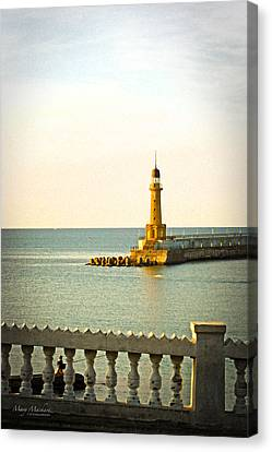 Lighthouse - Alexandria Egypt Canvas Print