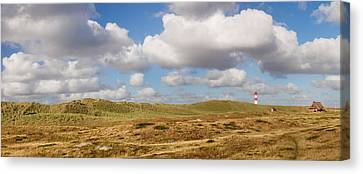 Lighthouse At East Ellenbogen, Sylt Canvas Print by Panoramic Images