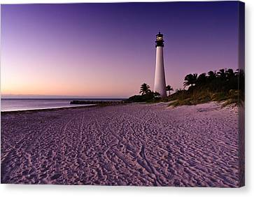 Lighthouse Bill Baggs Canvas Print by David Arran