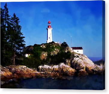 Lighthouse Canvas Print by David Blank