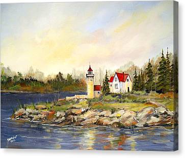 Lighthouse Canvas Print by Dorothy Maier