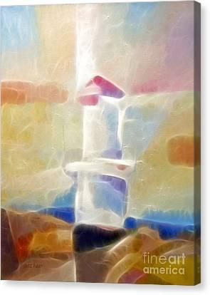 Lighthouse Glow Canvas Print