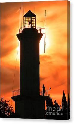 Canvas Print featuring the photograph Lighthouse I by Bernardo Galmarini