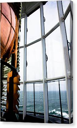 Lighthouse Lens Canvas Print by John Daly
