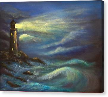 Lighthouse Lights Canvas Print