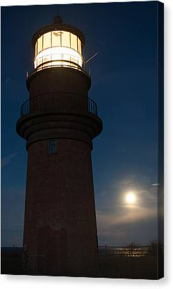Lighthouse Moon Canvas Print