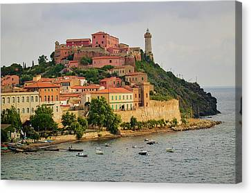 Lighthouse Of Portoferraio Canvas Print