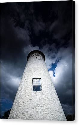 Pioneers Canvas Print - Lighthouse On Boblo Island by Cale Best