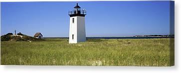 Lighthouse On The Beach, Long Point Canvas Print