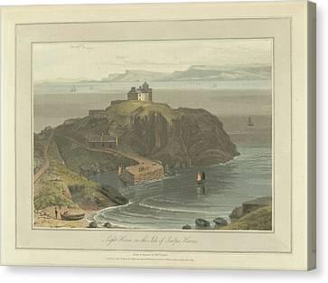 Lighthouse On The Isle Of Scalpa Canvas Print