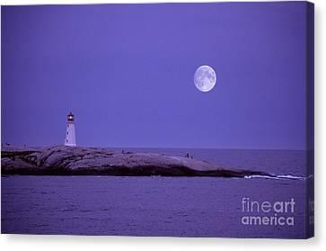 Lighthouse, Peggys Cove Canvas Print by Novastock