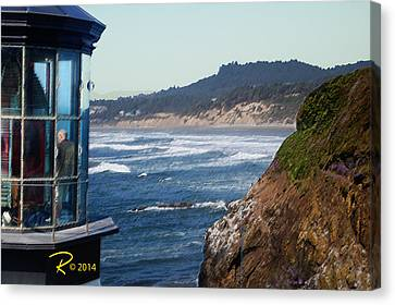 Lighthouse Canvas Print by Ralph Hartwig