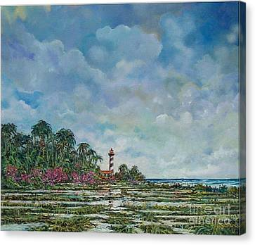 Lighthouse Canvas Print by Sinisa Saratlic