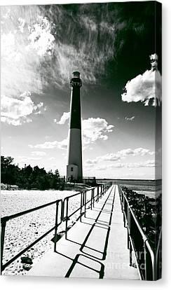 Lighthouse Walk Canvas Print