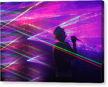Lighting Up The Stage Canvas Print by James Hammen