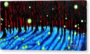 Lightning Bugs 2 Canvas Print
