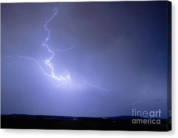 Lightning Goes Boom In The Middle Of The Night Canvas Print by James BO  Insogna