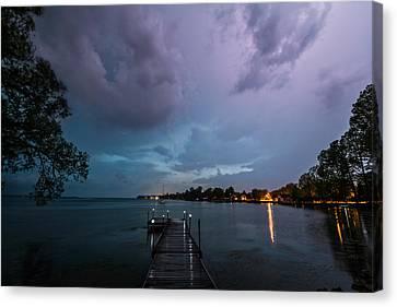Canvas Print - Lightning Lighting by Matt Molloy