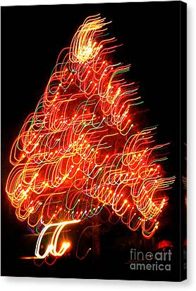 Lights Before Christmas Canvas Print by Gem S Visionary
