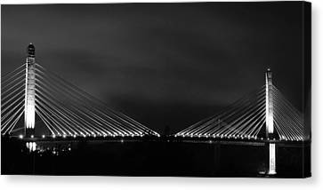 Canvas Print featuring the photograph Lights by Paul Noble