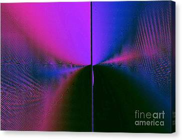 Light's Triumph Over Darkness Canvas Print by JCYoung MacroXscape
