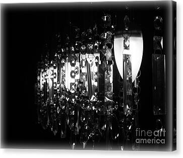 Canvas Print featuring the photograph Lightwork by Clare Bevan