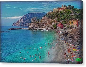Liguria Canvas Print by Hanny Heim