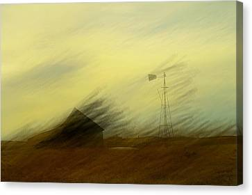 Like A Memory In The Wind Canvas Print by Jeff Swan