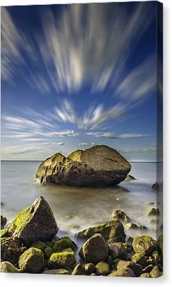 Like A Rock Canvas Print by Rick Berk
