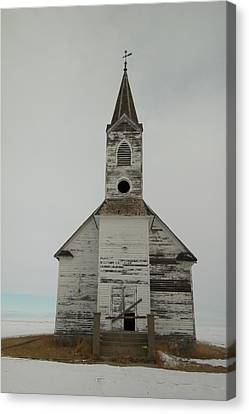 Like An Angel Boarded Up Canvas Print by Jeff Swan