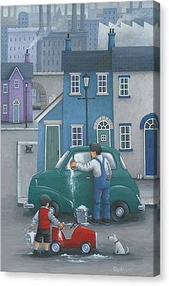 Like Father... Canvas Print by Peter Adderley