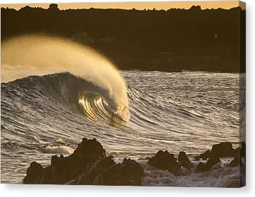 Like Lava Canvas Print by Brad Scott