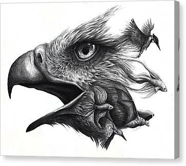 Like Smoke Canvas Print by Danielle Trudeau