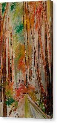 Like The Trees Always Looking Up Canvas Print by PainterArtist FIN